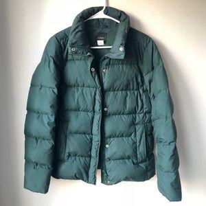 J. Crew puffer jacket